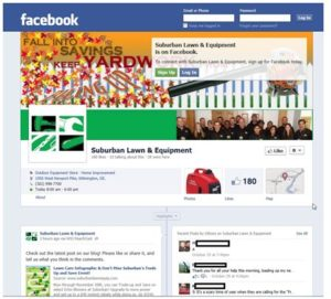 Facebook Suburban Lawn