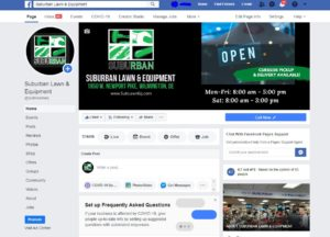 Suburban Lawn Facebook